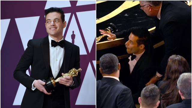 Rami Malek nakon govora pao s pozornice: Zvali hitnu pomoć