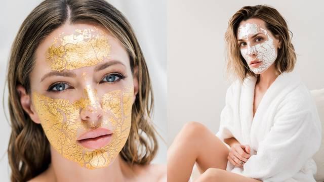 Zlatne i srebrne anti-age maske dostupne su sada i u Hrvatskoj