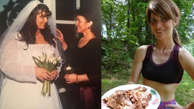 Žena koja je smršavila 60 kilograma Kelly Hogan