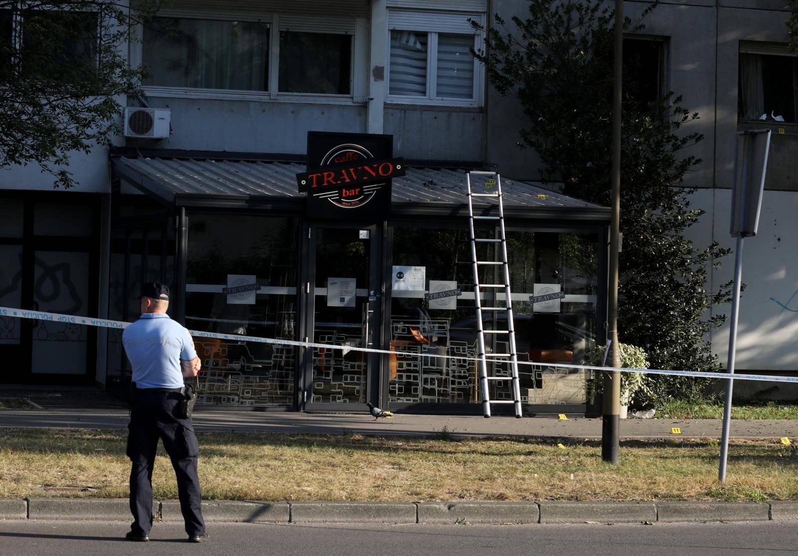 Zagreb: Eksplozija u zagrebačkom naselju Travno, oštećen kafić