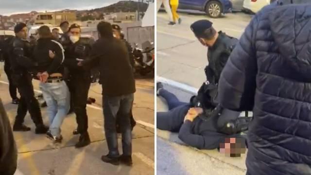 Nakon nereda u Šibeniku priveli 16 BBB-a, ozlijeđena 2 policajca