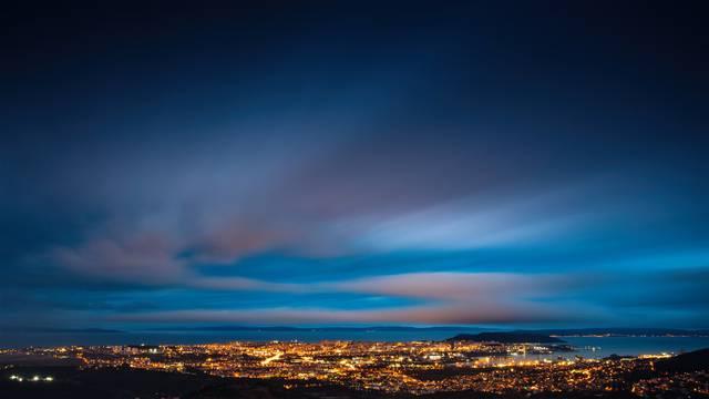 Panorama Splita nakon kiše