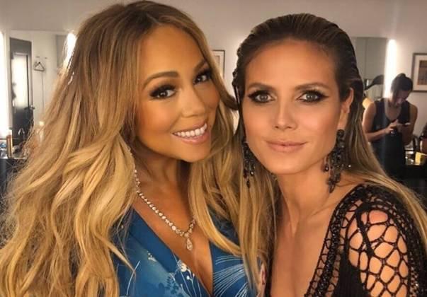 Ženska ljubav: Mariah i Heidi nerazdvojne na after partyju