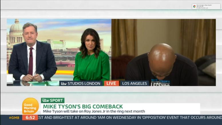 Tyson - napušen k'o dimnjak ili ozbiljno bolestan? Jedva govori
