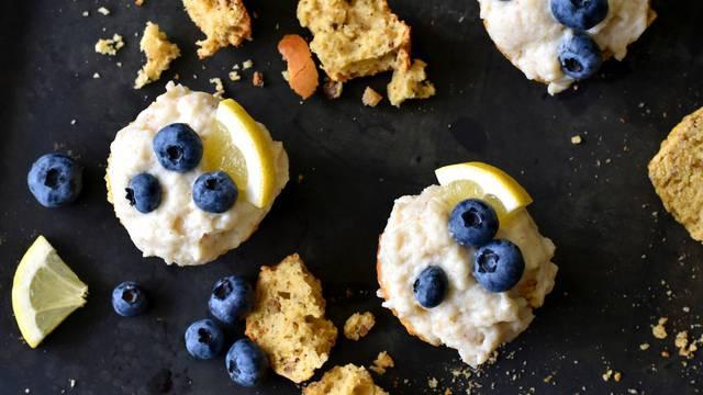 Ideja za slasni obrok: Muffini s vanilijom i finim borovnicama