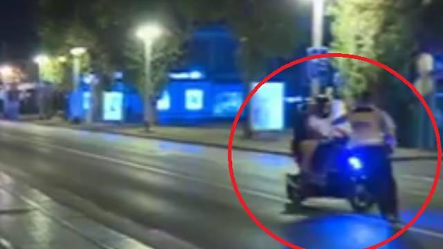 Nije htio stati: Skoro pregazio policajca i prošao kroz crveno
