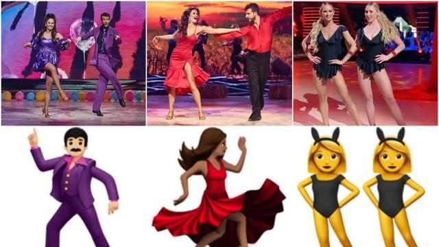 Ples sa zvijezdama: Viktorija i Marko 'kopirali' odjeću smajlića