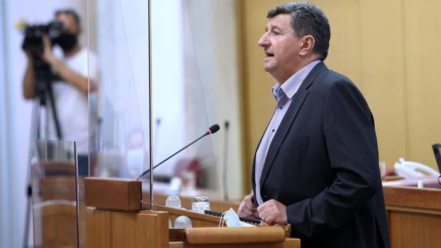 Zagreb: Sjednica Sabora nastavljena slobodnom raspravom zastupnika