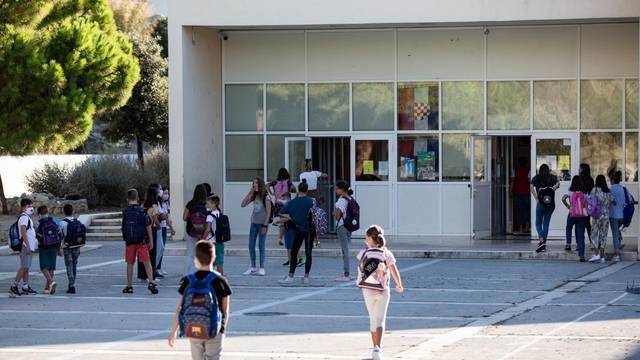 Prvi je dan nove školske godine u splitskom školama