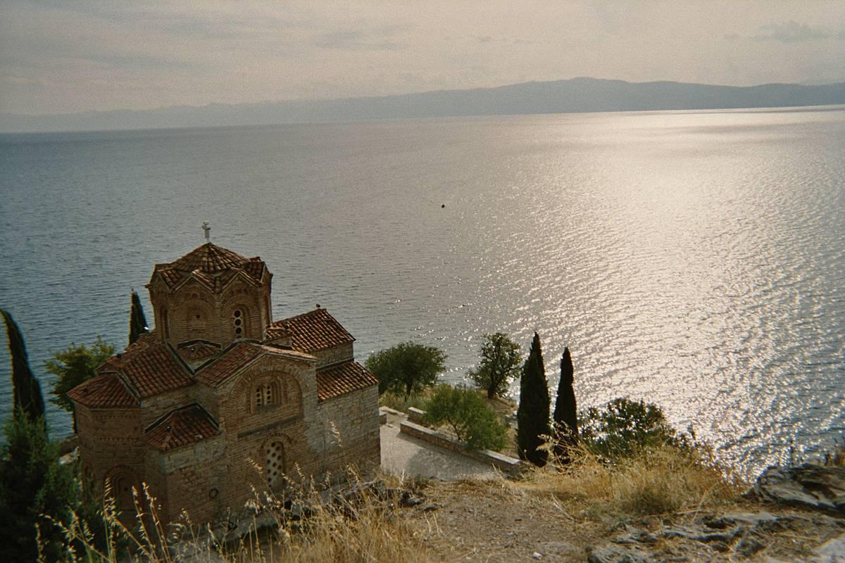 Ohridsko jezero u Makedoniji