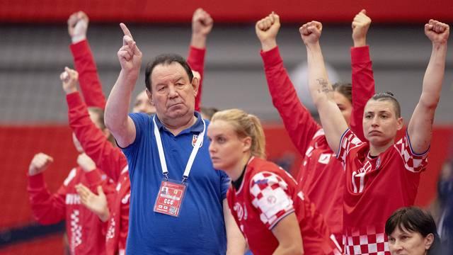EHF Euro Women's Handball Championship - Main Round Group 2 - Croatia v Norway