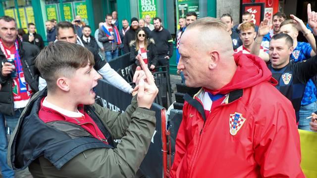 Cardiff: Hrvatski navijači nisu se isprovocirali pojedincima Walesa koji žele napraviti nered