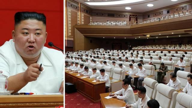 Nosi mu se bijela boja: Kim je okupio partijski vrh, priznali da im baš i nije poboljšan standard