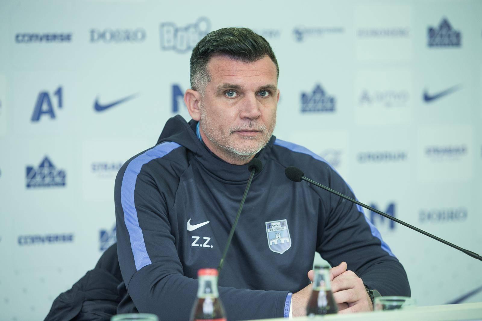 Osijek: Konferencija za medije Zorana Zekića nakon utakmice s Belupom