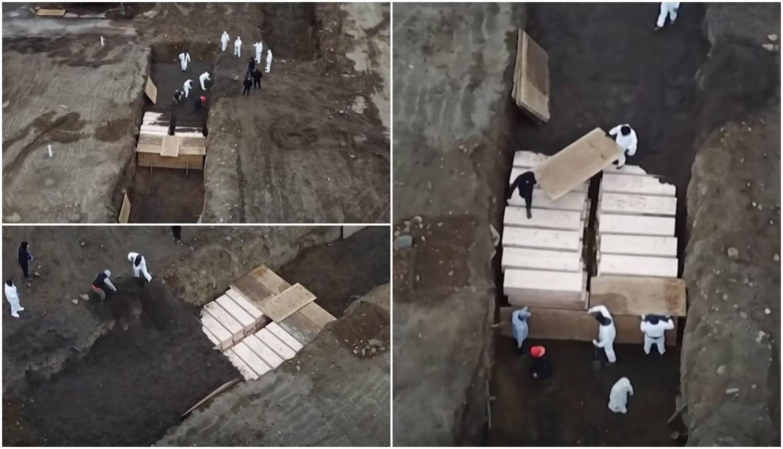 Prizori užasa: U New Yorku grobnice iskapaju u parkovima