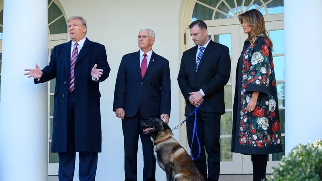 United States President Donald J. Trump, joined by Vice President Mike Pence...