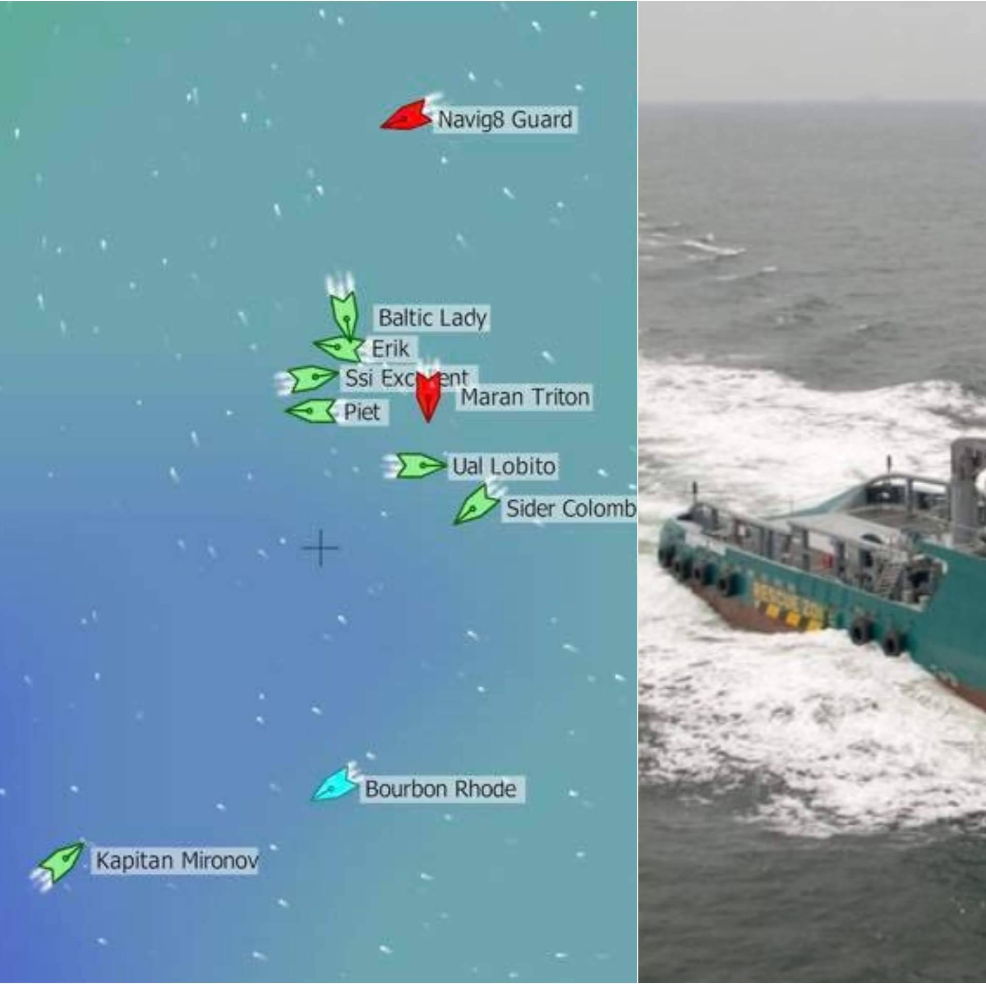 Tragaju za preživjelima: Brod s kapetanom Hrvatom potonuo