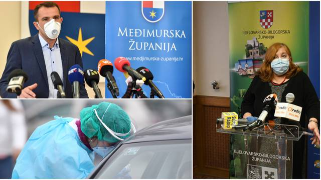 Strože mjere za Bjelovarsku i Međimursku županiju: Ne želimo preopteretiti bolnice