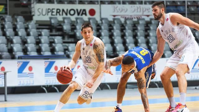 Košarkaši Zadra ugostili su ekipu Vrijednosnice Osjek na Višnjiku