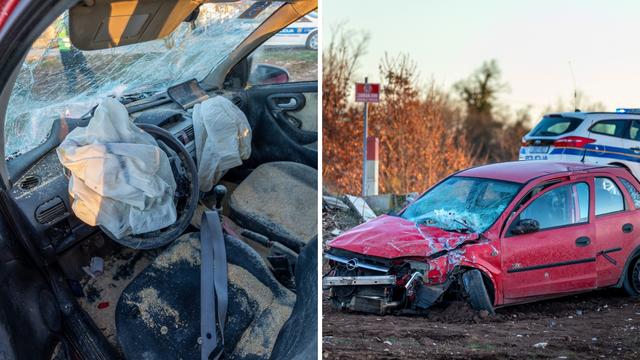 Vlak naletio na automobil: Vozač je u šoku, a vatrogasci su morali rezati lim da ga izvuku