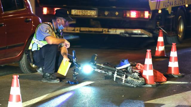 Vozač romobila završio u bolnici nakon sudara s automobilom