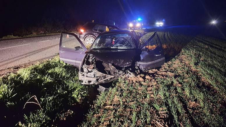 Petero ozlijeđenih u sudaru u Podravini: Odvezla ih je Hitna
