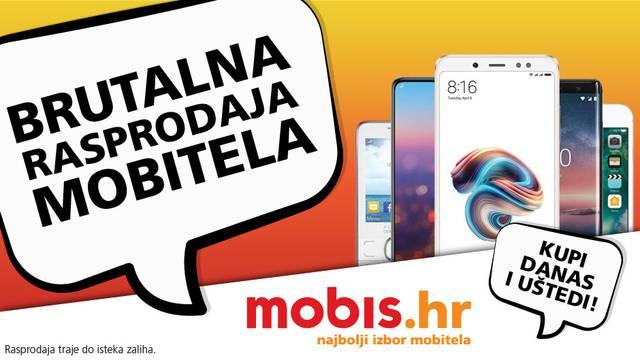 Velika rasprodaja mobitela na mobis.hr! Količine nestaju!