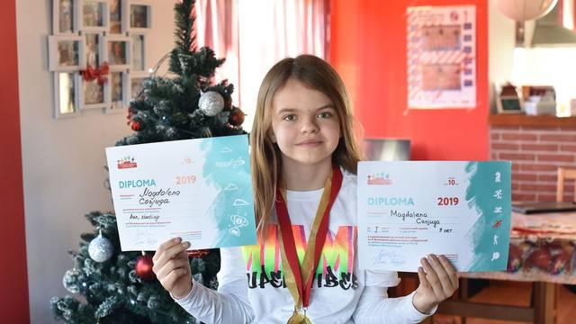 Imala je rak i nije ni hodala, a onda je osvojila zlatnu medalju
