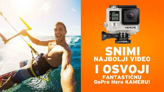 Snimite najbolji video za nas i osvojite GoPro Hero kameru!