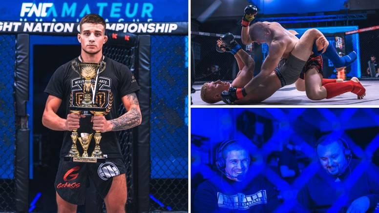Pisarić najbolji borac FNC-ove MMA lige, ATT-u najviše odličja