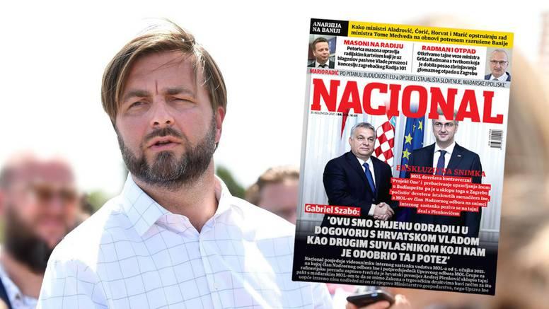 Ćorić: Odluka o Ini uskoro, a naslovnica Nacionala je bizarna