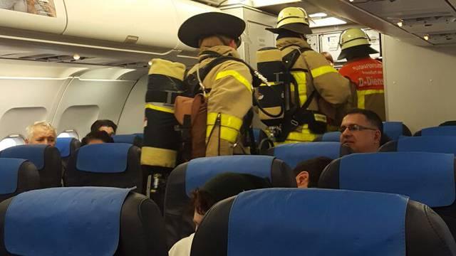 Avion Croatia Airlinesa sletio u Frankfurt jer se oglasio alarm