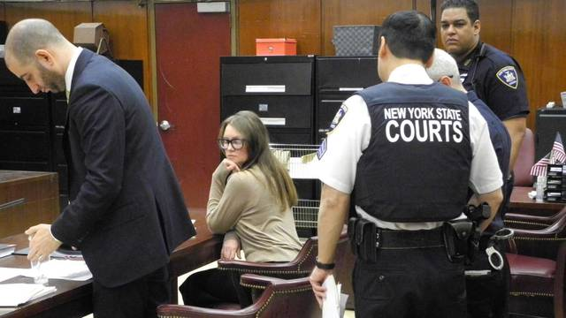 Suspected con artist Anna Sorokin in court