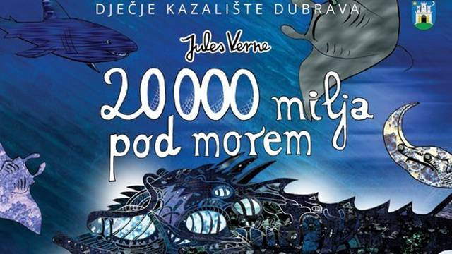 Predstava za djecu '20.000 milja pod morem' biti će online