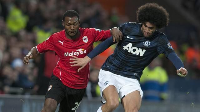 Cardiff City V Manchester United