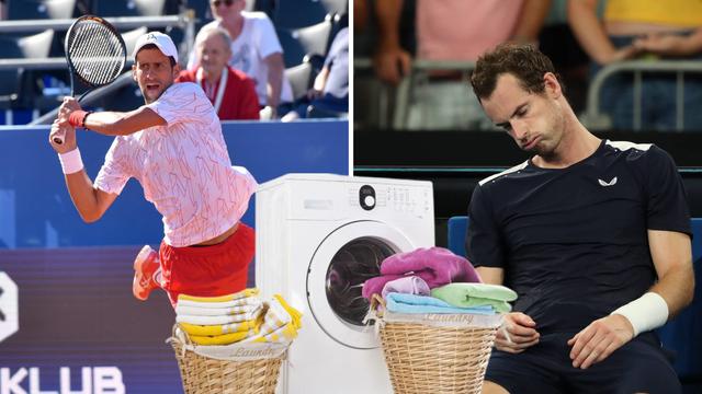 Australci će paziti kako Novaku peru rublje i španaju reket, a Murray možda propusti turnir