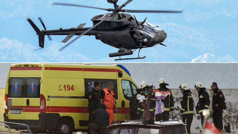 Pao helikopter kod Zlarina: Iz mora su izvukli tijelo pilota