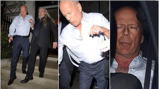 Pijanog Brucea Willisa zaštitari iznosili iz londonskog kluba