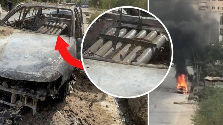 VIDEO Iz ovog su auta gađali Kabul? U gepeku se vide cijevi, presreli najmanje pet raketa