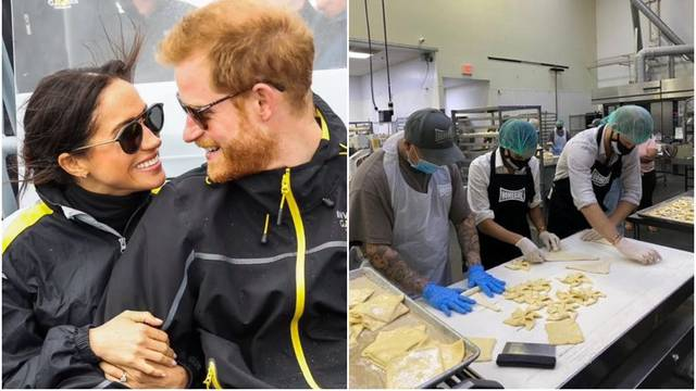 Harry i Meghan volontirali su u pekarnici: Humanitarnim radom mogli bi 'pokupiti' milijun funti