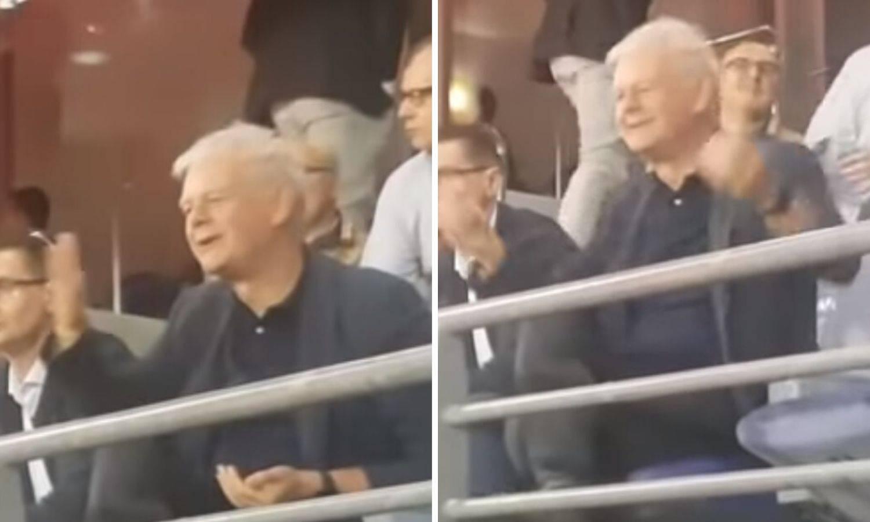 Dinamovci vrijeđali Brbića, on im sretan slao poljupce iz lože...