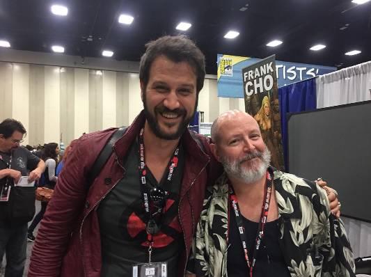 Kapičić: Upoznao sam idola, tvorca kultnog stripa 'Hellboy'