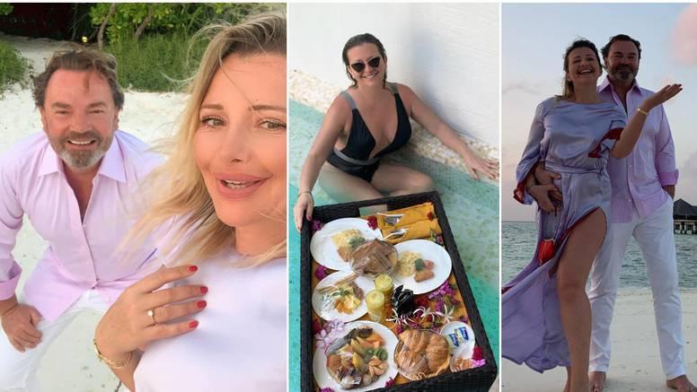 Snježana Mehun se zaručila na Maldivima, od sreće zaplakala: Prsten stigao na pladnju hrane