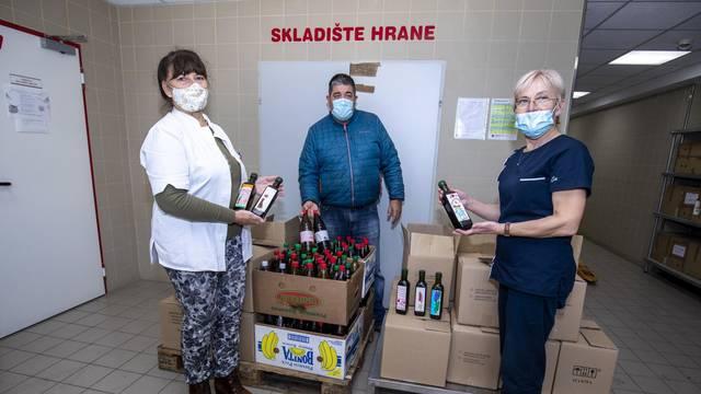 Split: Donacija maslinovog ulja s Braca splitskoj bolnici
