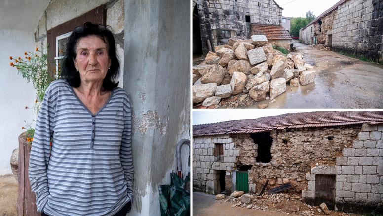 Vlasnica kuće kraj epicentra: 'Izašla sam vani. Imala sam osjećaj da će se sve srušiti'