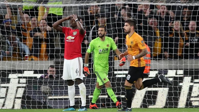 Man United opet zapeo u vučjoj jazbini, samo bod kod Wolvesa