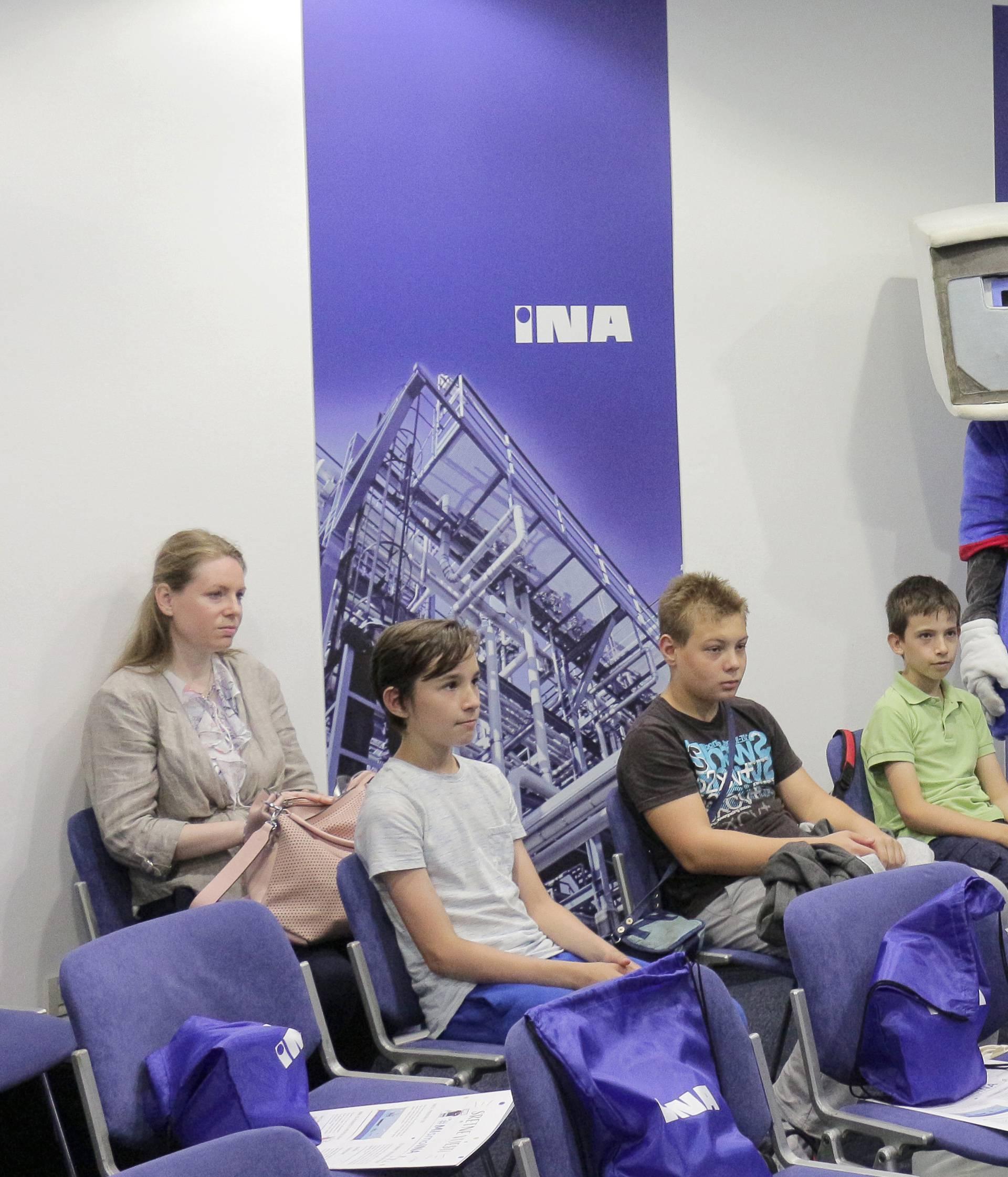 INA potiče razvoj STEM-a u školama diljem Hrvatske