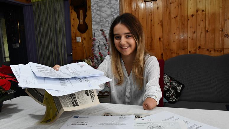 Ivana nema šaku, a država joj je ukinula invalidninu: 'Kaznili su me jer sam radila preko ljeta'