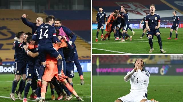 Srbija ne ide na Euro! Hrvatska će igrati protiv Škotske! Tragičar Mitrović zavio je Srbe u crno
