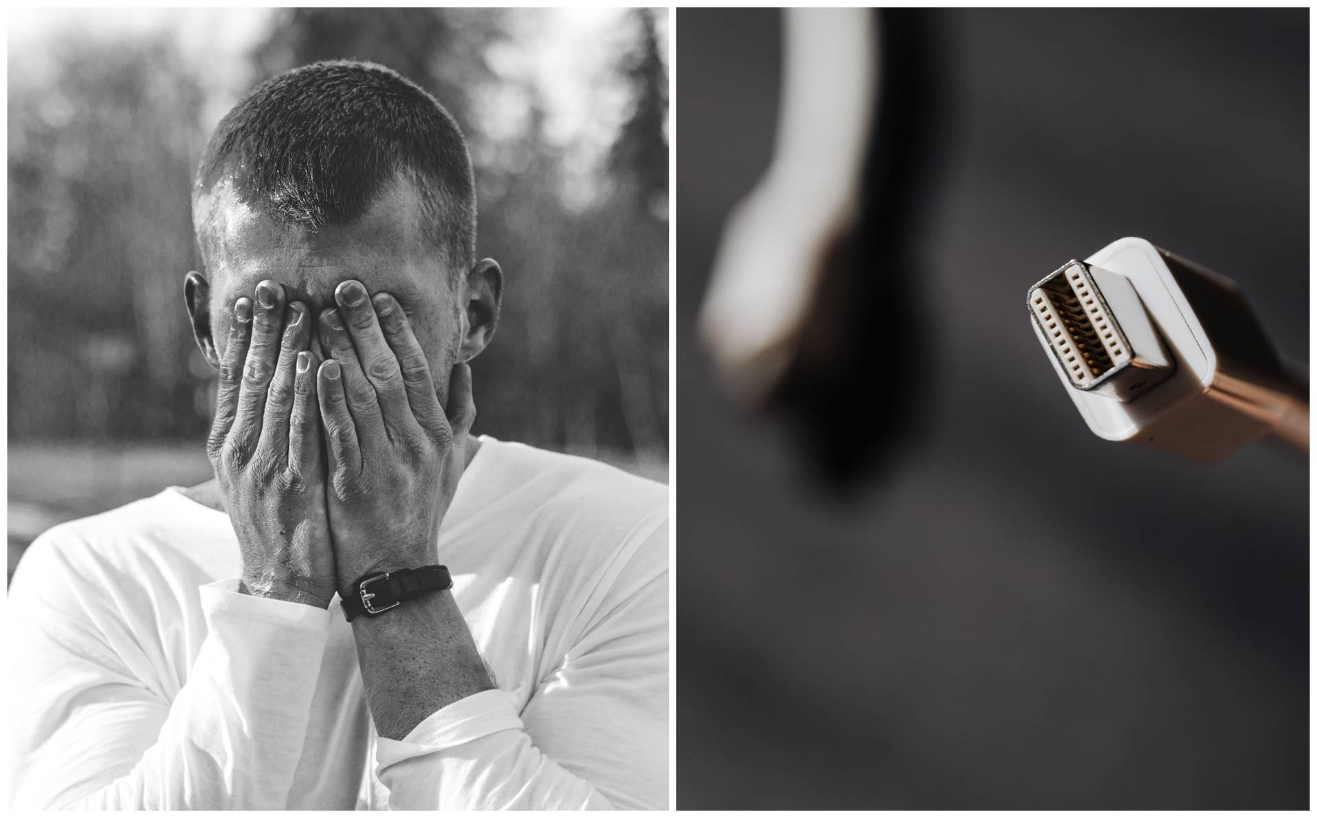 Muškarac gurnuo punjač za mobitel u genitalije